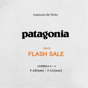 patagonia flash sale